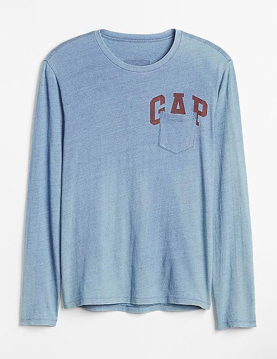 5619480340a3 Buy Men 000000035443045401 Light Indigo 8 Mens T-Shirt online at ...
