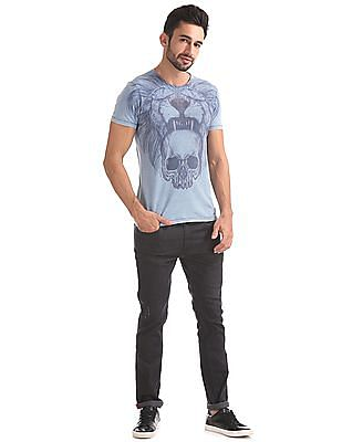 Ed Hardy Slim Fit Graphic Print T-Shirt