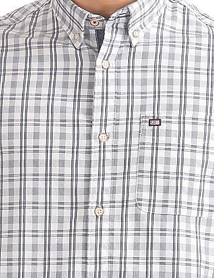 Arrow Sports Button Down Check Shirt