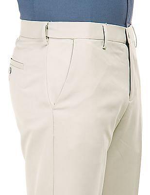 Excalibur Flat Front Regular Fit Trousers