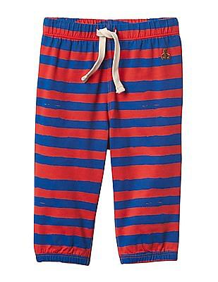 GAP Baby Red Stripe Jersey Pants