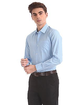 Arrow Slim Fit Spread Collar Shirt