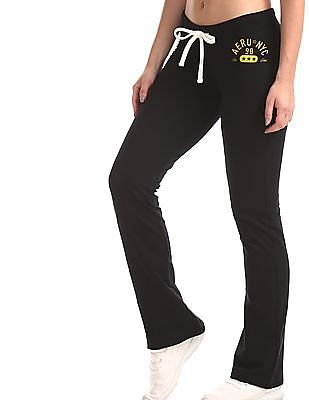 Aeropostale Slim Fit Drawstring Track Pants`