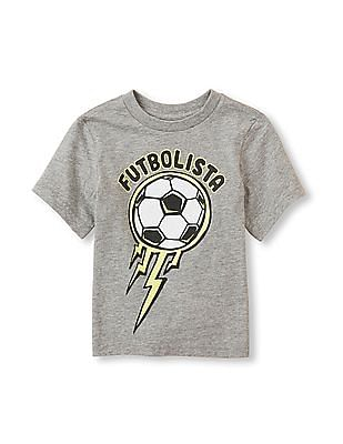 The Children's Place Toddler Boy 'Futbolista' Soccer Graphic Tee