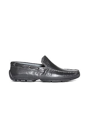 U.S. Polo Assn. Solid Leather Loafers