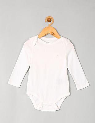 GAP Baby Favorite Long-Sleeve Bodysuit (3-Pack)