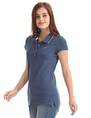 GAP Short Sleeve Solid Polo