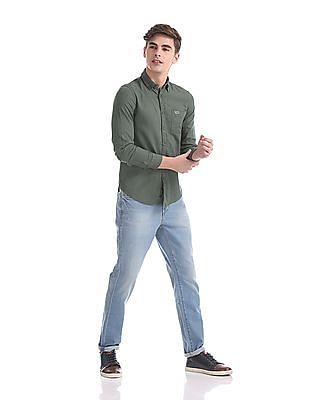 U.S. Polo Assn. Denim Co. Slim Fit Button Down Collar Shirt