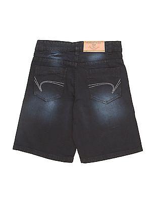 Cherokee Boys Washed Slim Fit Denim Shorts