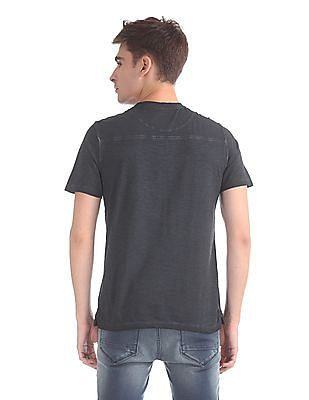 Cherokee Dyed Henley T-Shirt