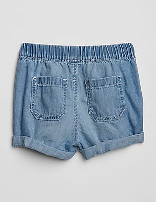 GAP Toddler Girl Dark Wash Denim Shorts