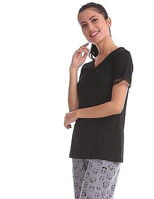 SUGR Assorted T-Shirt And Capri Set