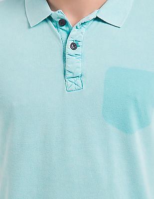 Cherokee Shadow Pocket Slim Fit Polo Shirt