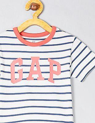 GAP Toddler Boy Logo Short Sleeve T-Shirt