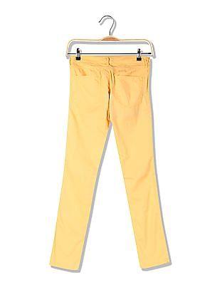 U.S. Polo Assn. Women Super Skinny Fit Flat Front Trousers
