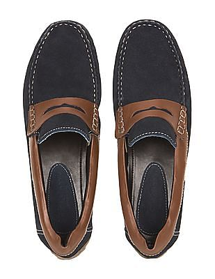 U.S. Polo Assn. Suede Penny Loafers