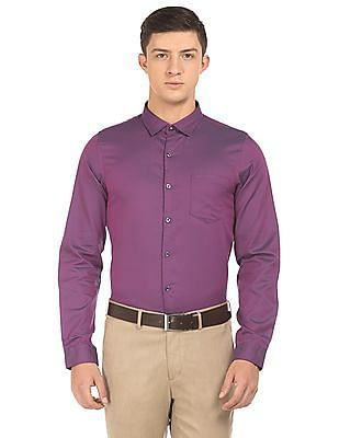 Elitus Two Tone Super Slim Fit Shirt