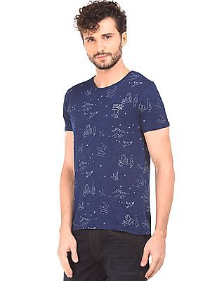 Ed Hardy Printed Slim Fit T-Shirt
