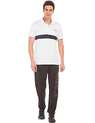 USPA Active Panelled Front Active Polo Shirt