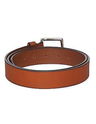 Arrow Burnished Leather Belt