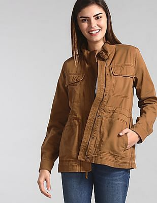 GAP Brown Utility Twill Jacket