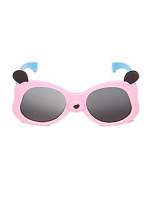 Unlimited Girls Bunny Frame Colour Block Sunglasses