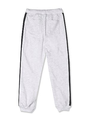 Colt Grey Boys Mickey Mouse Graphic Heathered Joggers