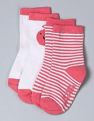 GAP Baby Assorted Personalitees Graphic Socks (2-Pack)