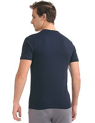 Colt Flock Print Crew neck T-Shirt