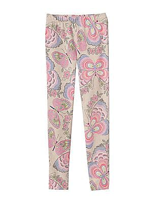 GAP Girls Pink Jersey Leggings