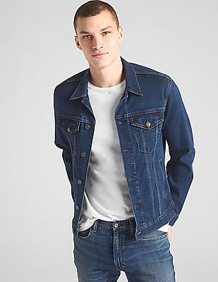 GAP Soft Wear Icon Denim Jacket