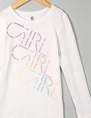 GAP Girls Graphic Long Sleeve Tee