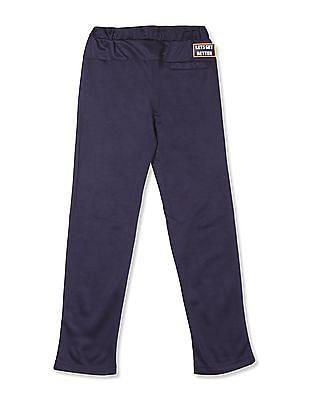Cherokee Blue Boys Printed Active Track Pants