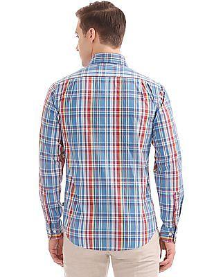 Nautica Long Sleeve Belk Madras Plaid Shirt