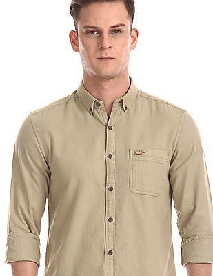 U.S. Polo Assn. Denim Co. Slim Fit Button Down Shirt
