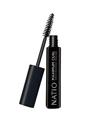 NATIO Maximum Curl Water Resistant Mascara - Blackest Black