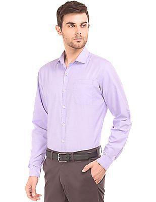 Excalibur Classic Fit Cotton Shirt