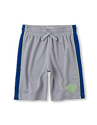 The Children's Place Boys Pieced Active Mesh Shorts
