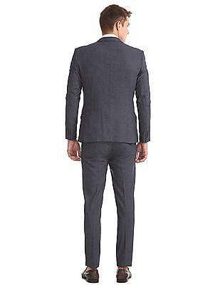 Arrow Newyork Slim Fit Patterned Suit