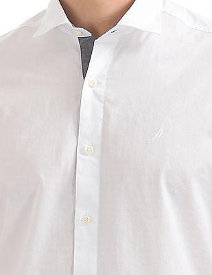 Nautica Short Sleeve Dobby Shirt
