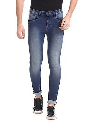 Ruf & Tuf Skinny Fit Stone Wash Jeans