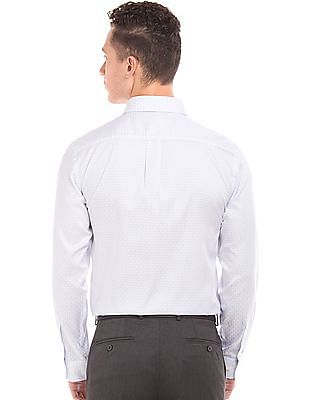 Arrow Jacquard Wrinkle Resistant Shirt