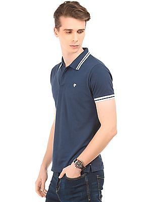 Ruggers Tipped Pique Polo Shirt