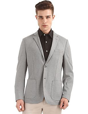 U.S. Polo Assn. Patterned Slim Fit Blazer