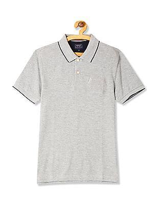 Arrow Sports Regular Fit Tipped Polo Shirt