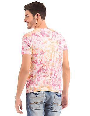 Bayisland Slim Fit Tie Dye Print T-Shirt