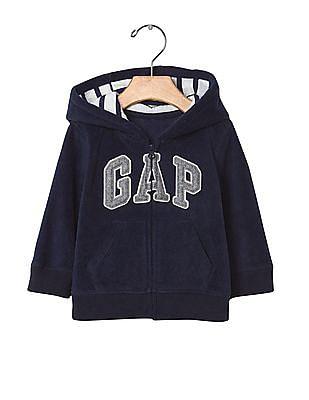 GAP Baby Pro Fleece Logo Hoodie