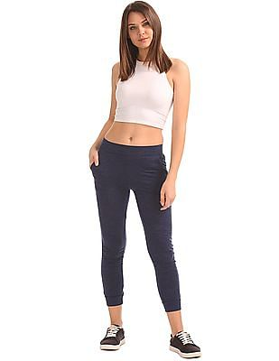 SUGR Heathered Cropped Joggers