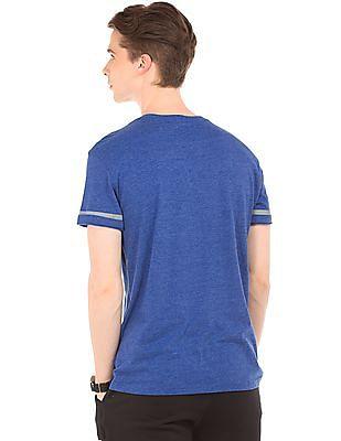 Aeropostale Marled Crew Neck T-Shirt