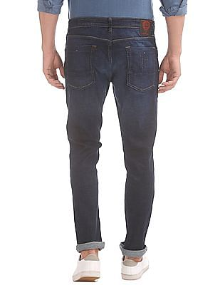 Ed Hardy Slim Fit Whiskered Jeans